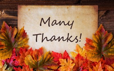Thank You To Our Holiday Season Customers